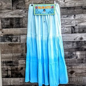 ❤️ 3/$35 Fun Tie Dye Ombre Peasant Gypsie Skirt